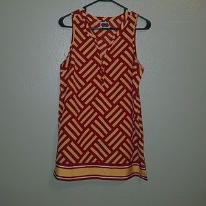 Mudpie sleeveless tunic